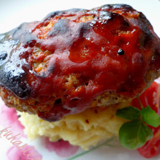 Glazed Mini Meatloaf