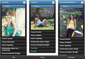 Screenshot of Turkish girls