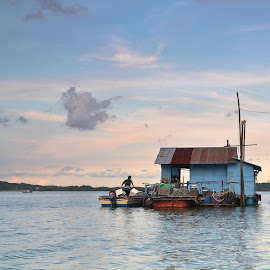 This Is Home by Pang Yong Ren - Buildings & Architecture Homes ( water, boat, people )