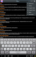 Screenshot of Thai Dict 2