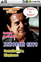 Screenshot of Joe Pesci Says
