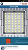 Screenshot of Bosch Flashlight
