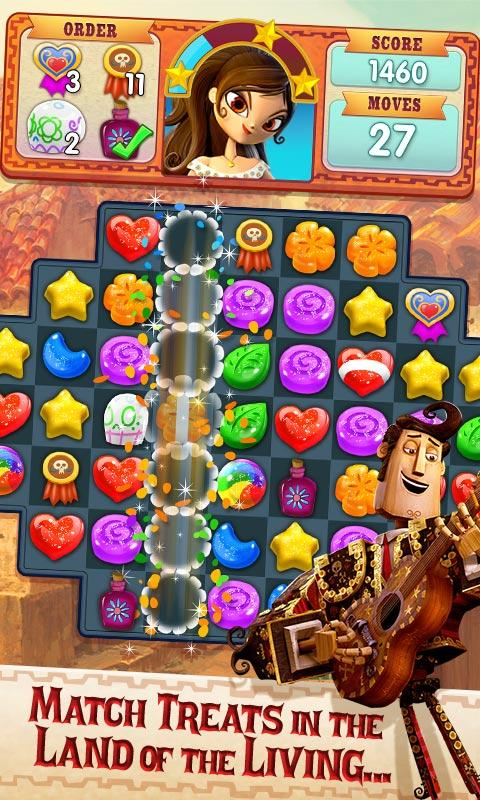 Sugar Smash: Book of Life - Free Match 3 Games Screenshot