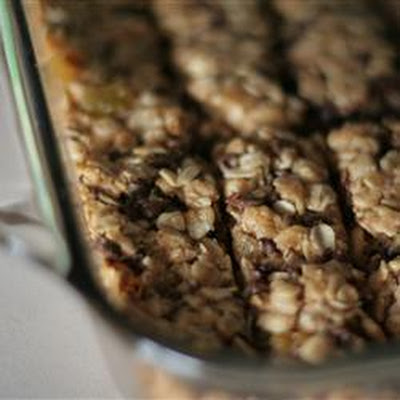 Very Chewy Granola Bars