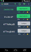 Screenshot of A Wifi Network Switcher Widget