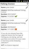 Screenshot of My Fishing Mate Australia