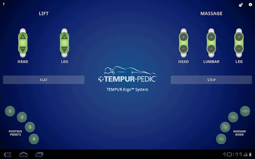 TEMPUR-Ergo™ Smart Control- screenshot thumbnail