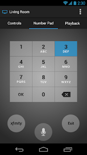 Download android app xfinity tv x1 remote for samsung for Mirror xfinity app to tv