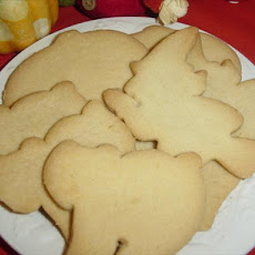 Aunt Zana's Amish Sugar Cookies (Eggless)