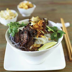 Grilled Beef with Lemon Grass and Garlic (Bo Nuong Xa Toi)