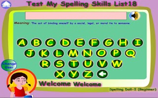 Screenshot of Spelling Doll-1