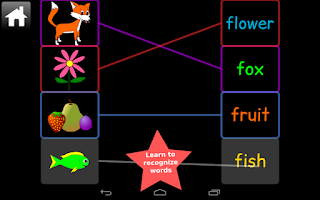 Screenshot of Kindergarten Kids Words Lite