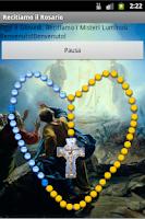 Screenshot of Recitiamo Santo Rosario Free