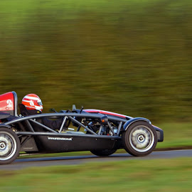 Ariel Atom at Curborough by Jony Ellis - Novices Only Sports ( speed, racing, ariel atom, race track, curborough )