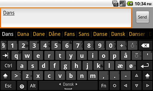 Danish dictionary Dansk