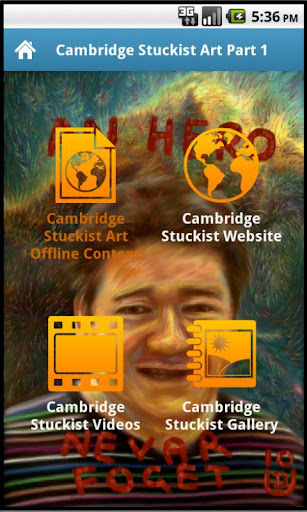Cambridge Stuckist Art App
