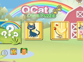 Screenshot of Toddler's Animal Puzzle