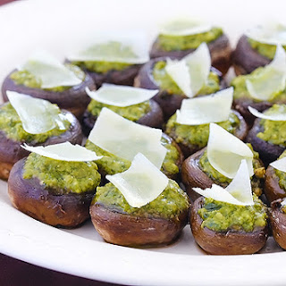 Pesto Stuffed Mushrooms Recipes