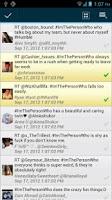 Screenshot of TweetSearcher for Twitter