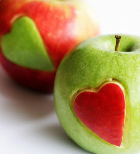 dan zaljubljenih, jabuke