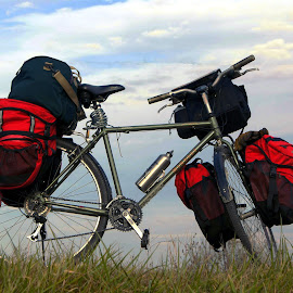 All I need by Joerg Schlagheck - Transportation Bicycles ( voyage, far, good, ready, tour., bicycle )