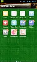 Screenshot of GO SMS Pro Weed Smoking Theme