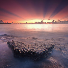 The Rays by Ledon Jasper Samoranos - Landscapes Waterscapes