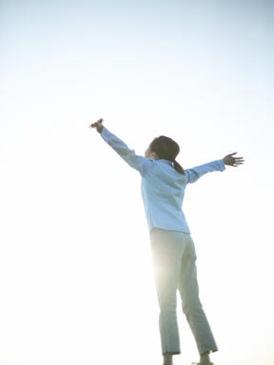 shouting God's goodness
