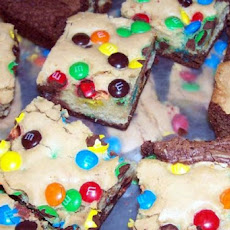 Double-Decker Confetti Brownies