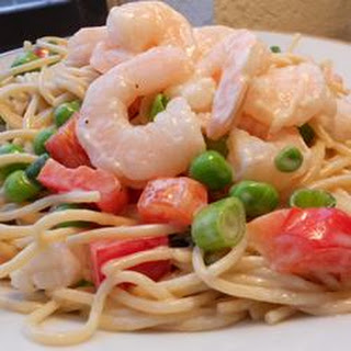 Spaghetti Salad With Shrimp Recipes