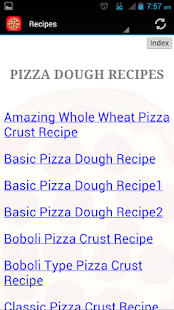 Easy Pizza Recipes - screenshot
