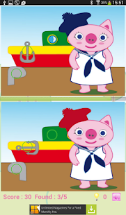 Pepa Find differences - screenshot
