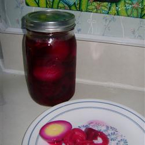 Pickled Red Beet Eggs