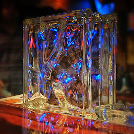 Glass Reflections by Scott Walker - Artistic Objects Glass ( reflection, color, glass, imagination, reality )