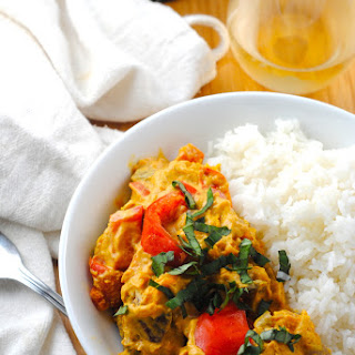 Vegan Thai Curry with Kabocha Squash