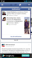 Screenshot of Faster for Facebook