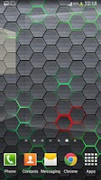 Screenshot of Honeycomb 2 LIve Wallpaper FR