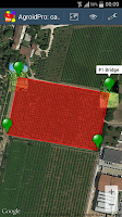 Screenshot of AgroidPro GPS Area Measure