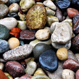Rocks by Marcellino Guarnero - Nature Up Close Rock & Stone ( wet, rocks )
