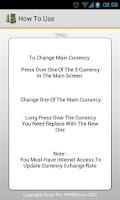 Screenshot of Currency Exchanger