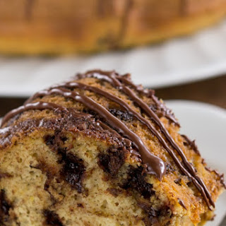 Healthier Chocolate Chip Cake