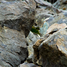 Fools Gold by Ian Thompson - Nature Up Close Rock & Stone ( abstract, nobody, mountain, still life, fine art, stone, rock, close up, colourful, nature, pattern, no people, outdoor, rocks, outside )