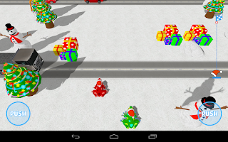 Screenshot of Christmas Frogs 3D