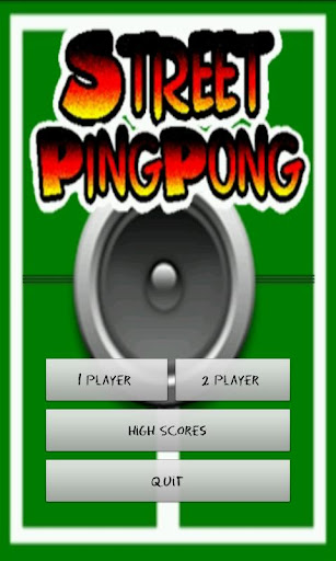Street Ping Pong Free