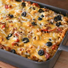 Loaded Pizza Pasta Casserole