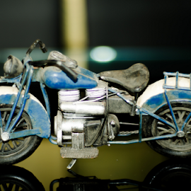 Ready to move by Mainak Panchal - Artistic Objects Toys ( bike, mainak, asia, india, singapore, mainak photography )