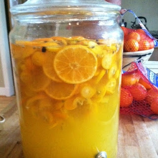 Winter Elixir - Orange and Kumquat Infused Rum w Spices