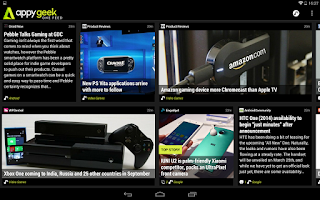 Screenshot of Appy Geek for Tablet