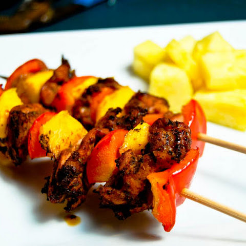 Mango Chicken Kabobs Recipe | Yummly