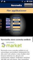 Screenshot of Norstedts stora svenska ordbok
